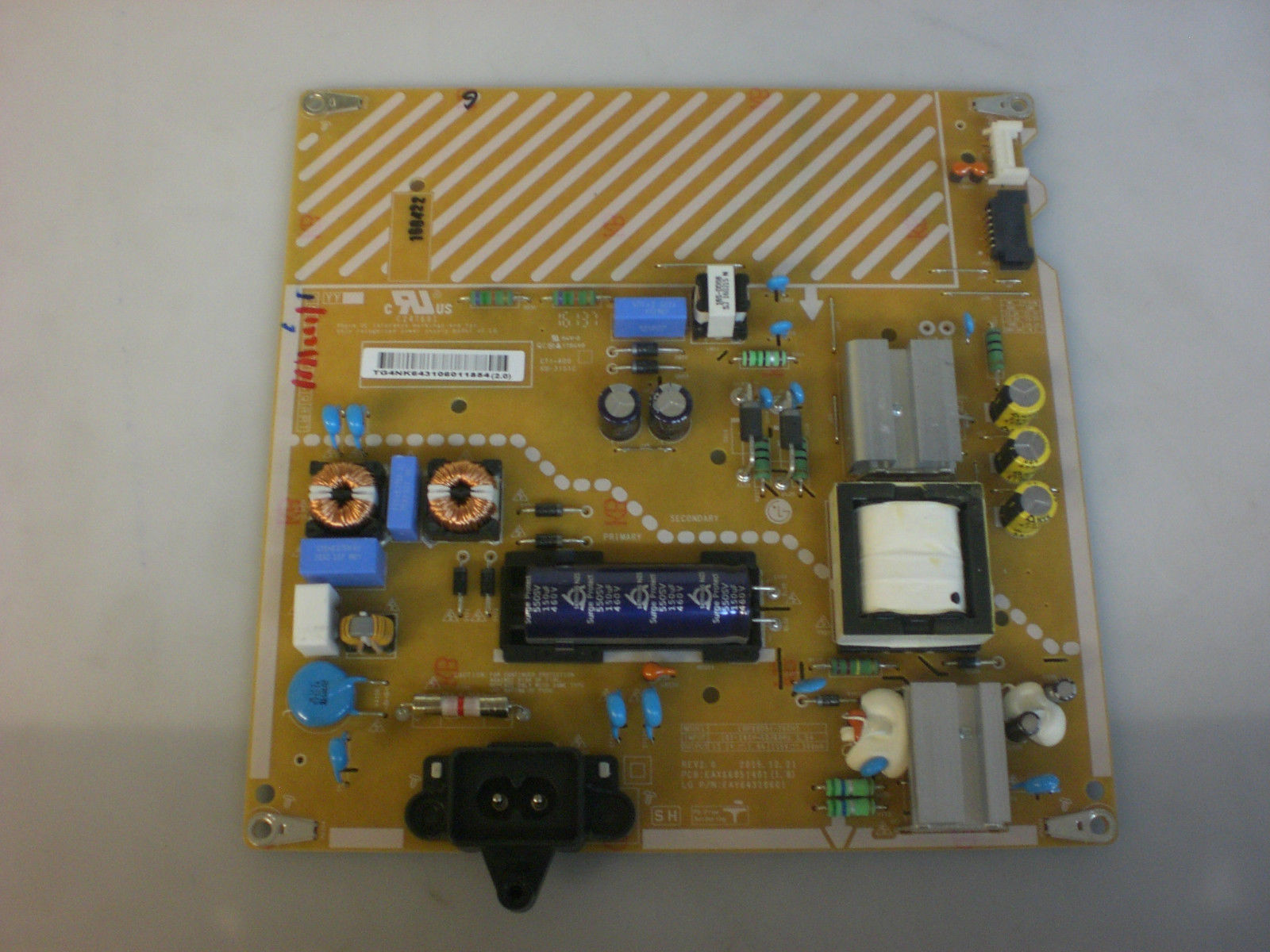LG EAY64310601 Power Supply Board 49LH5700-UD.AUSGLOR