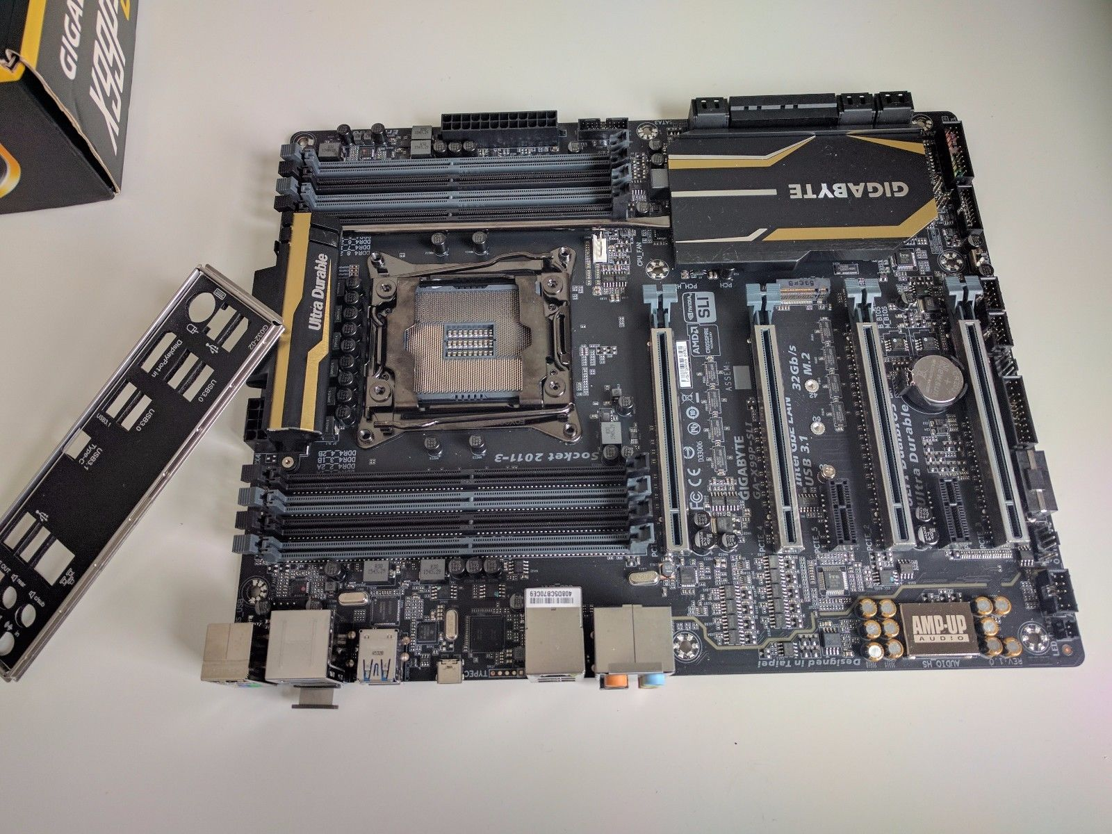 Gigabyte Technology GA-X99-SLI, LGA 2011, Intel Motherboard