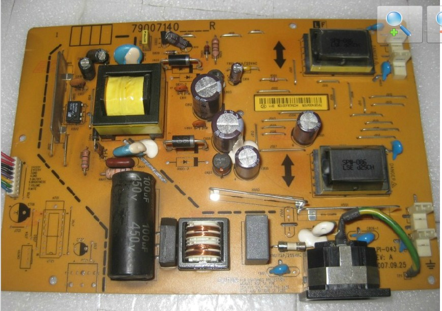 490071400100R ILPI-043 79007140_R power board supply unit for LE