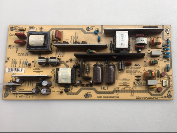 Sharp RUNTKA675WJQZ JSI-401401A Power board for LCD-40G100A