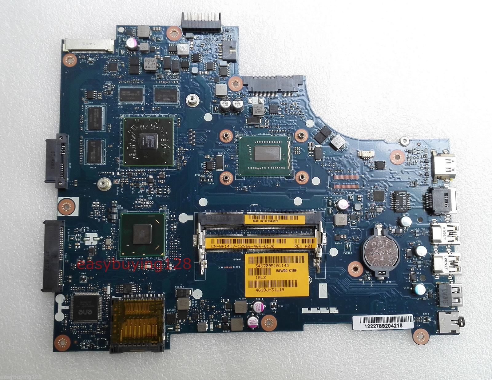 For DELL 15R 3521 5521 Motherboard P14T7 CN-0P14T7 HM77 i5-3317U
