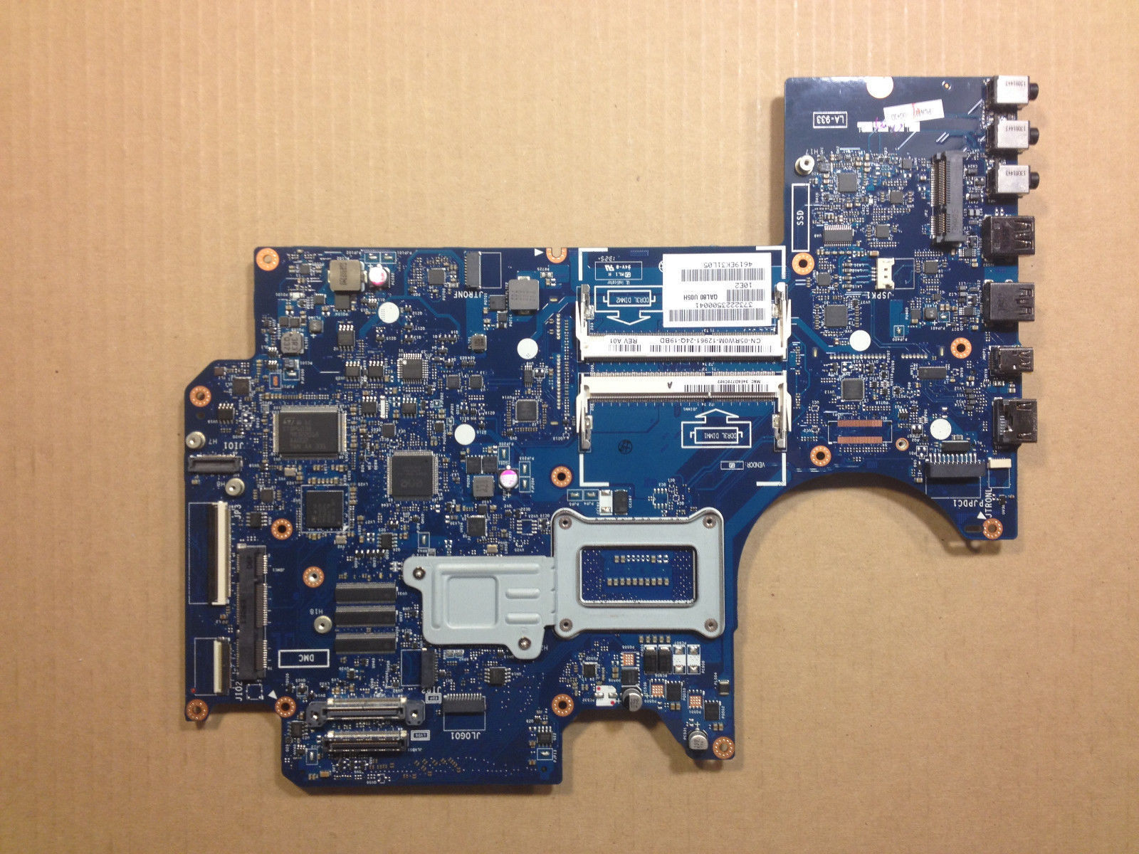 For Dell Alienware 17 M17x R5 Intel Motherboard 5RW0M CN-02XJJ7