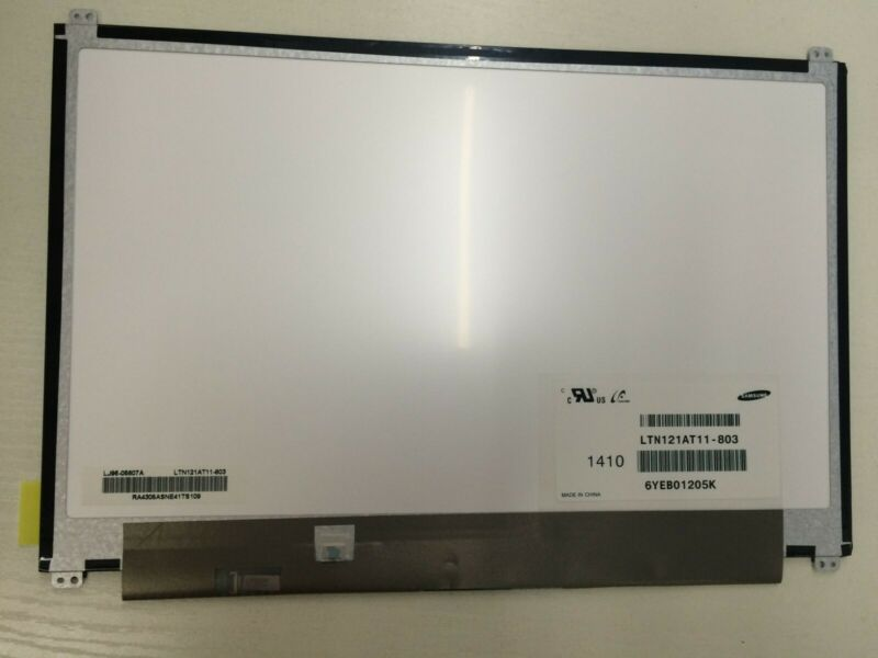 "12.1"" LED LCD Screen LTN121AT11-803 For Samsung ChromeBook Series 5 1280x800"