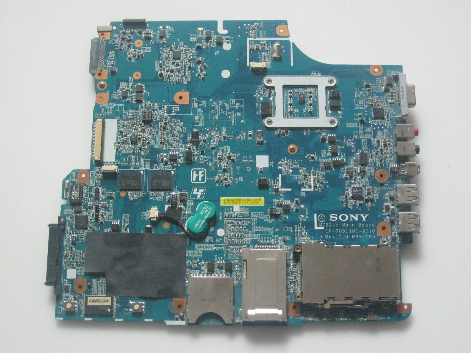 MBX-185 Laptop Motherboard for Sony Vaio VGN-NR31Z/S M730 A1509920A