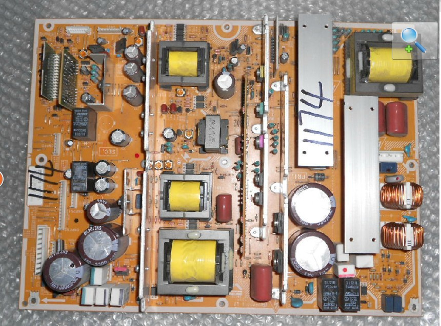 Hitachi MPF7716 MPF7716LF POWER BOARD