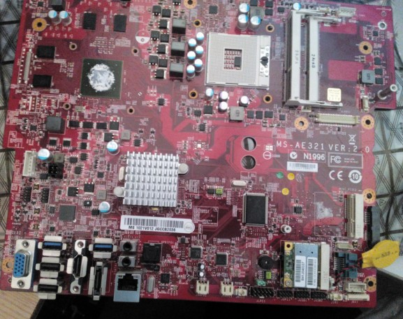 MSI AE321 Motherboard MS-AE321 VER:2.0 Mainboard