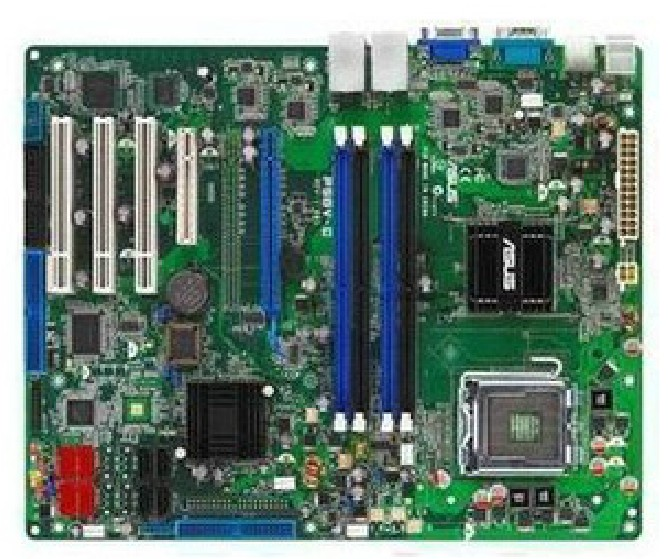ASUS P5BV-C REV 1.01 server motherboard intel 3200