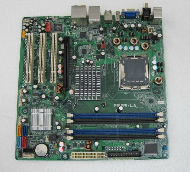 ASUS P5BW-LA Basswood2 775 Motherboard HP OEM P965 pc