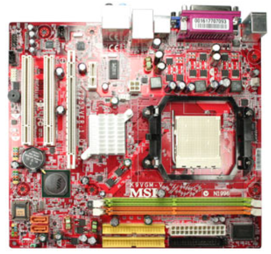 MSI K9VGM-V (MS-7253) Integrated Graphics AMD AM2