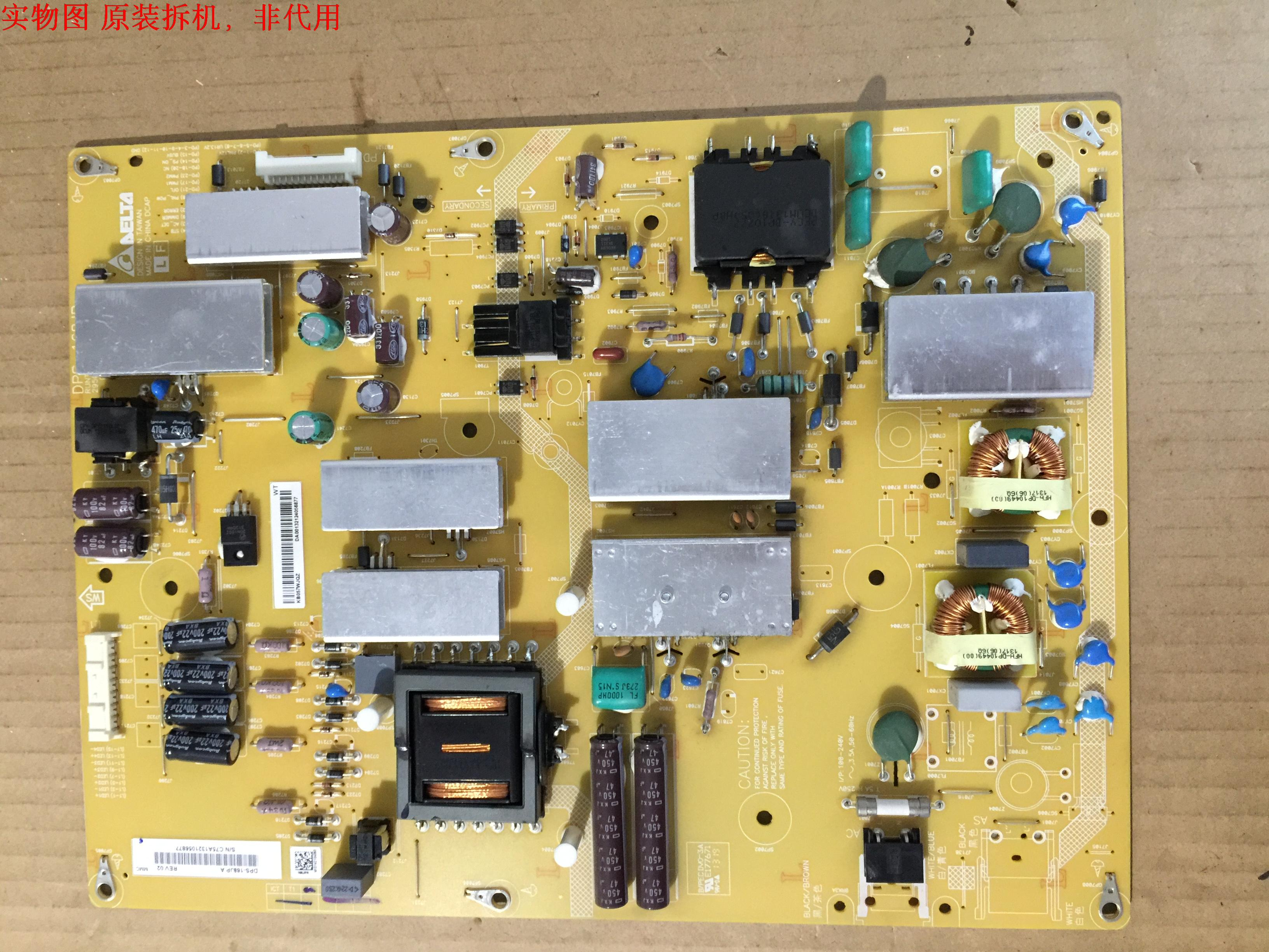 RUNTKB057WJQZ DPS-168JP A Power Supply LCD LED Board for Sharp LC-60LE600U