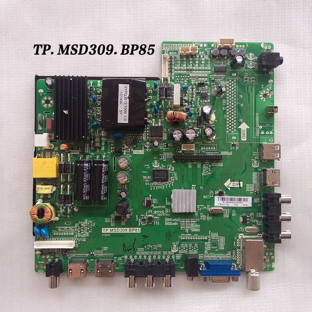 "New MAIN BOARD TP.MSD309.BP85 FOR 40"" BLAUPUNKT 40/133I LED TV SCREEN LSC400HM09"