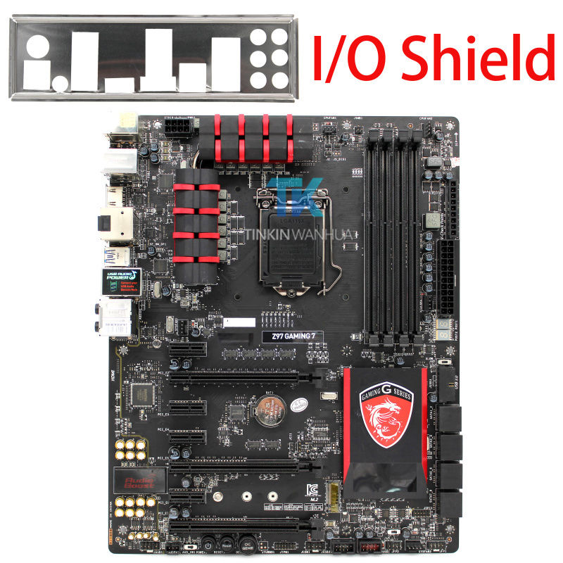 MSI Z97 GAMING 7 Genuine Intel Motherboard LGA 1150 HDMI SATA 6G