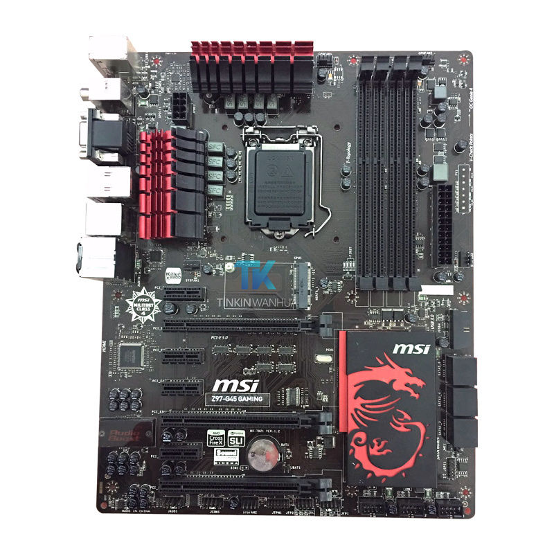 MSI Z97-G45 GAMING Genuine Intel Motherboard LGA 1150 HDMI SATA