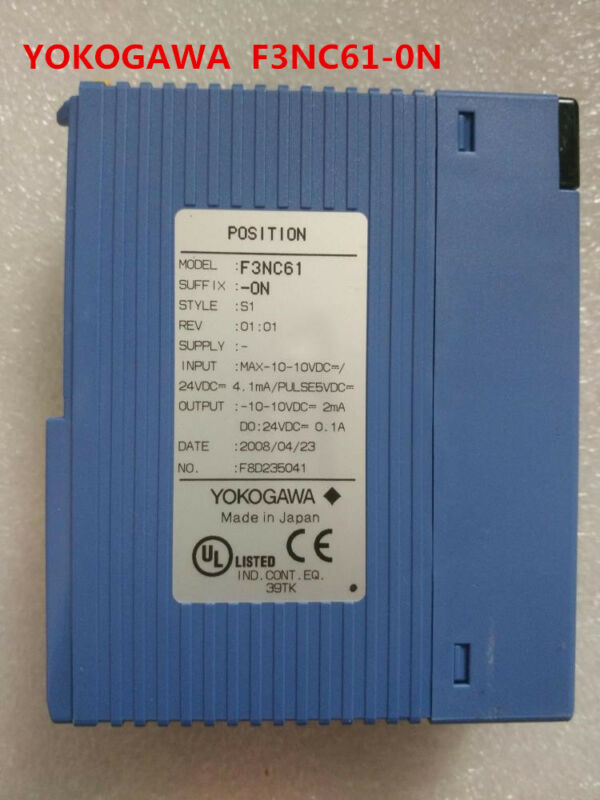 YOKOGAWA  F3NC61-0N  tested and used in good condition