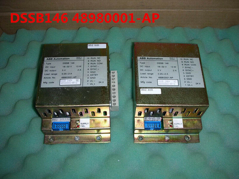 ABB DSSB146 48980001-AP tested and used