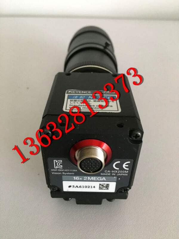 KEYENCE CA-HX200M CAHX200M used and tested