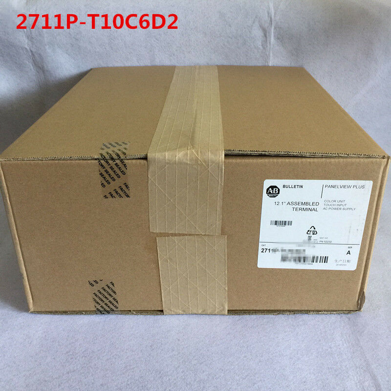 Allen Bradley 2711P-T10C6D2 2711PT10C6D2 NEW IN BOX