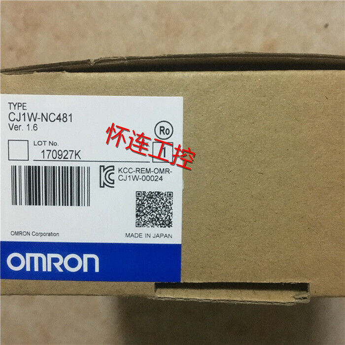 OMRON CJ1W-NC481 New In Box 1PCS