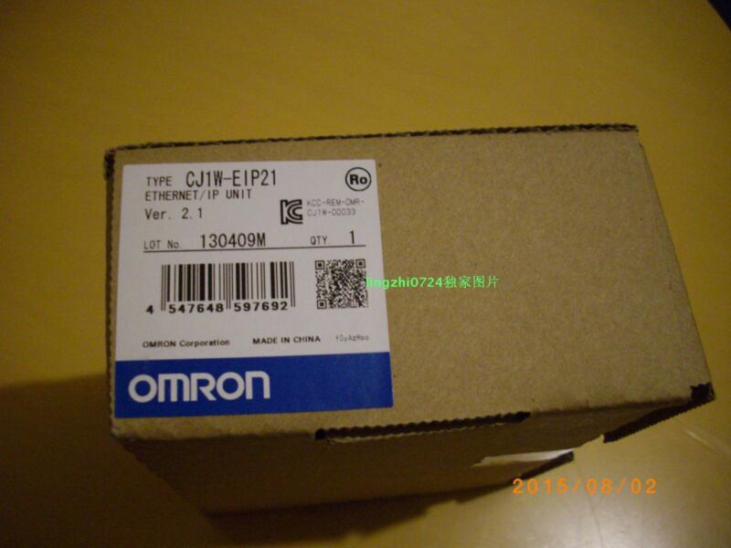 OMRON CJ1W-EIP21 New In Box 1PCS