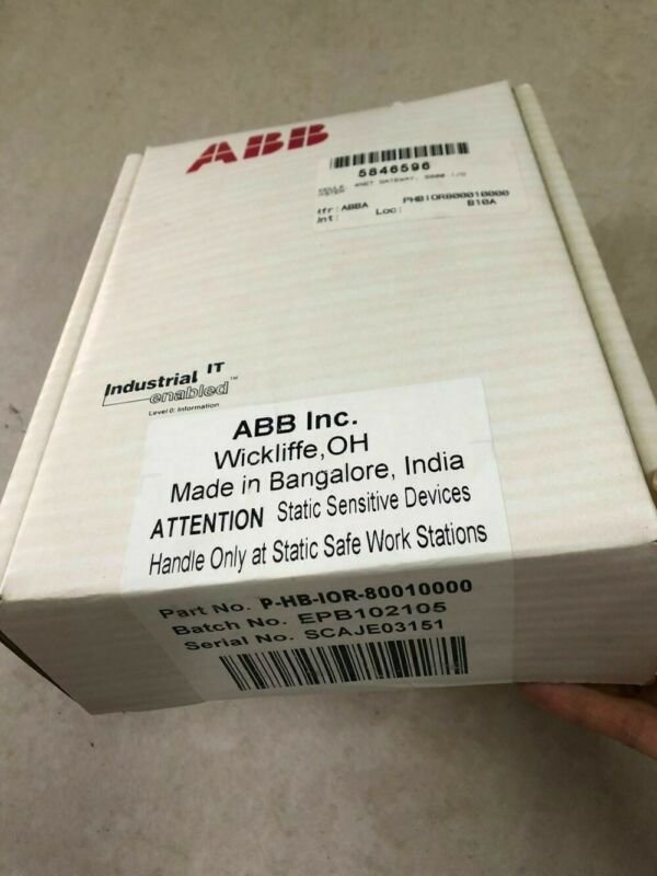 ABB IOR80010000 P-HB-IOR-80010000 PHBIOR80010000 New In Box 1PCS