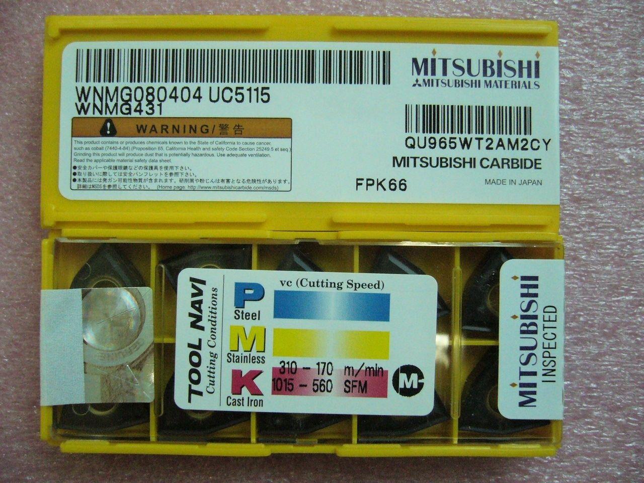 QTY 10x Mitsubishi CCMT32.51 CCMT09T304 VP15TF NEW