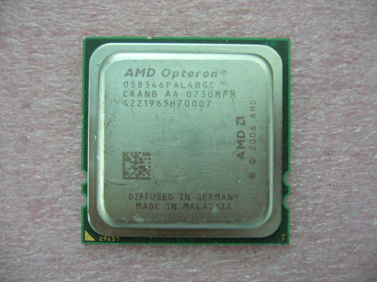 QTY 1x AMD CPU OS8346PAL4BGC Opteron 8346 HE Low-Power 1.8 GHz Quad-Core F 1207