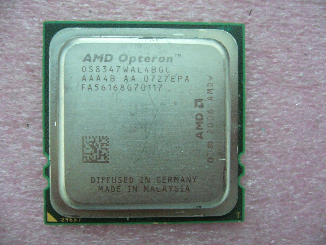 QTY 1x AMD Opteron 8347 1.9 GHz Quad-Core OS8347WAL4BGC CPU Socket F 1207