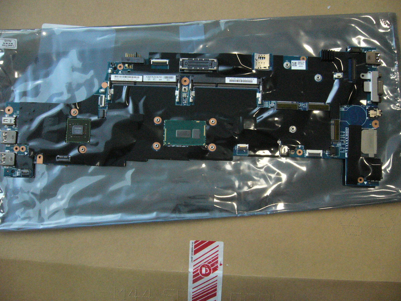 QTY 1x Lenovo Thinkpad W550S laptop motherboard intel i7-5500U 00JT411