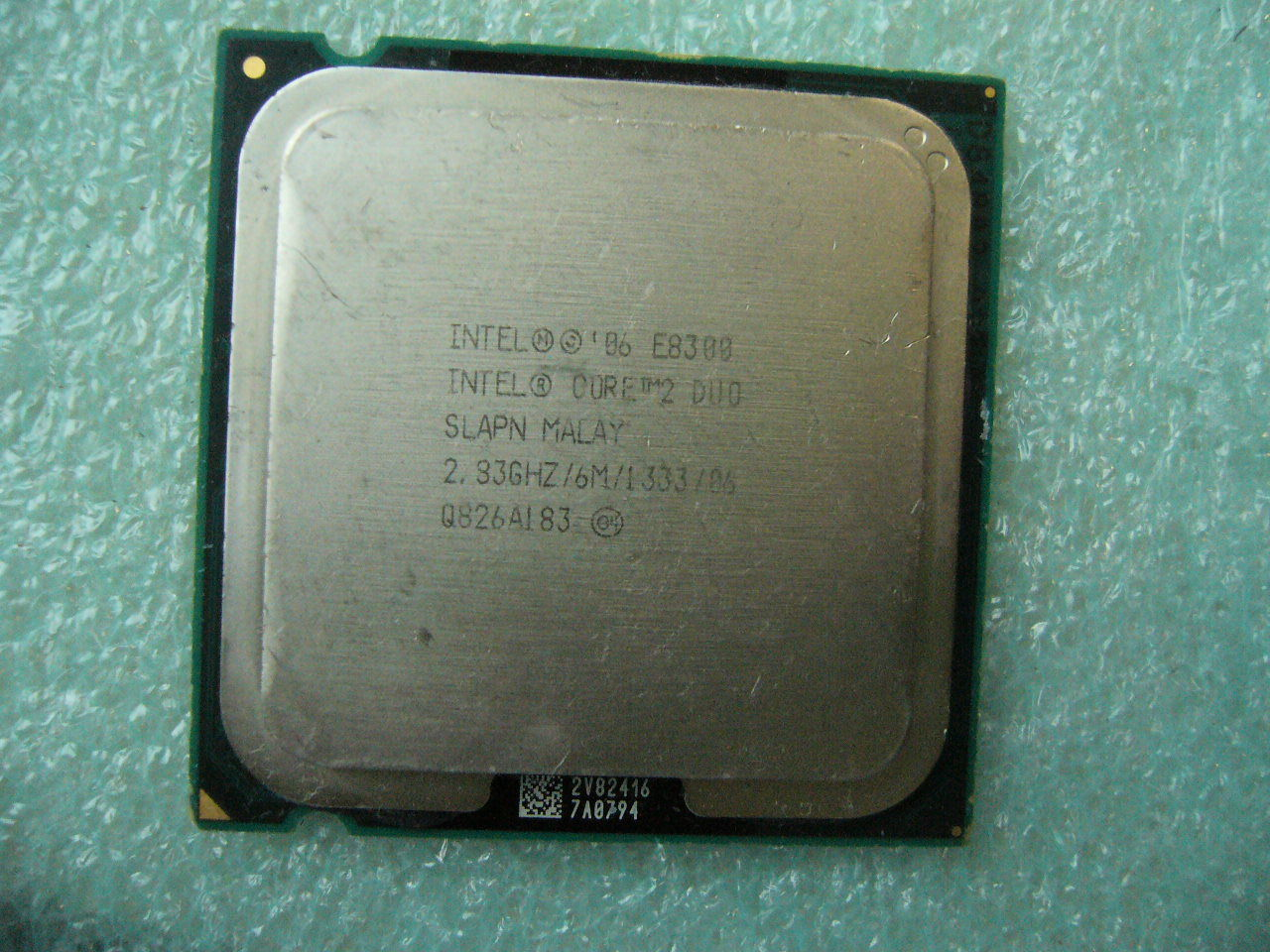 QTY 1x INTEL Core 2 Duo E8300 CPU 2.83GHz 6MB/1333Mhz LGA775 SLAPN