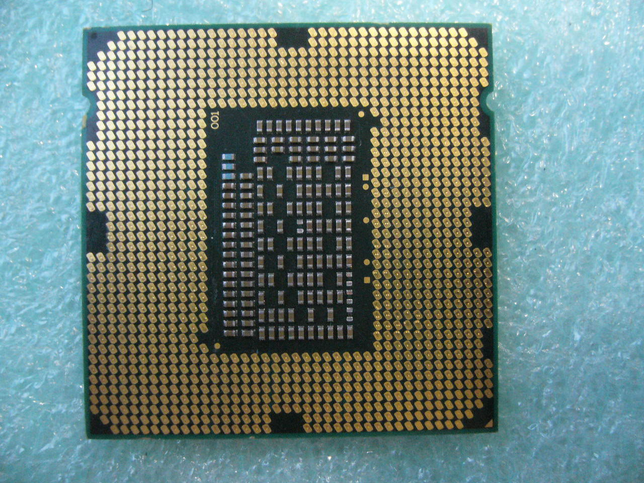 QTY 1x Intel CPU i5-2500S Quad-Cores 2.70Ghz LGA1155 SR009 damaged NOT WORKING
