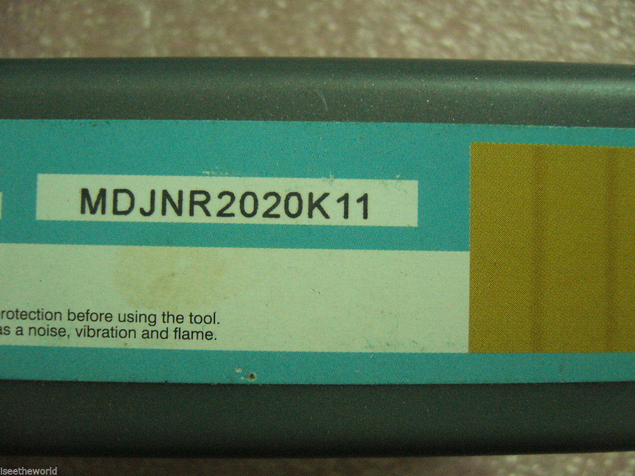 External Turning Toolholder MDJNR 2020K11 for inserts DNMG11.... DNMG3...