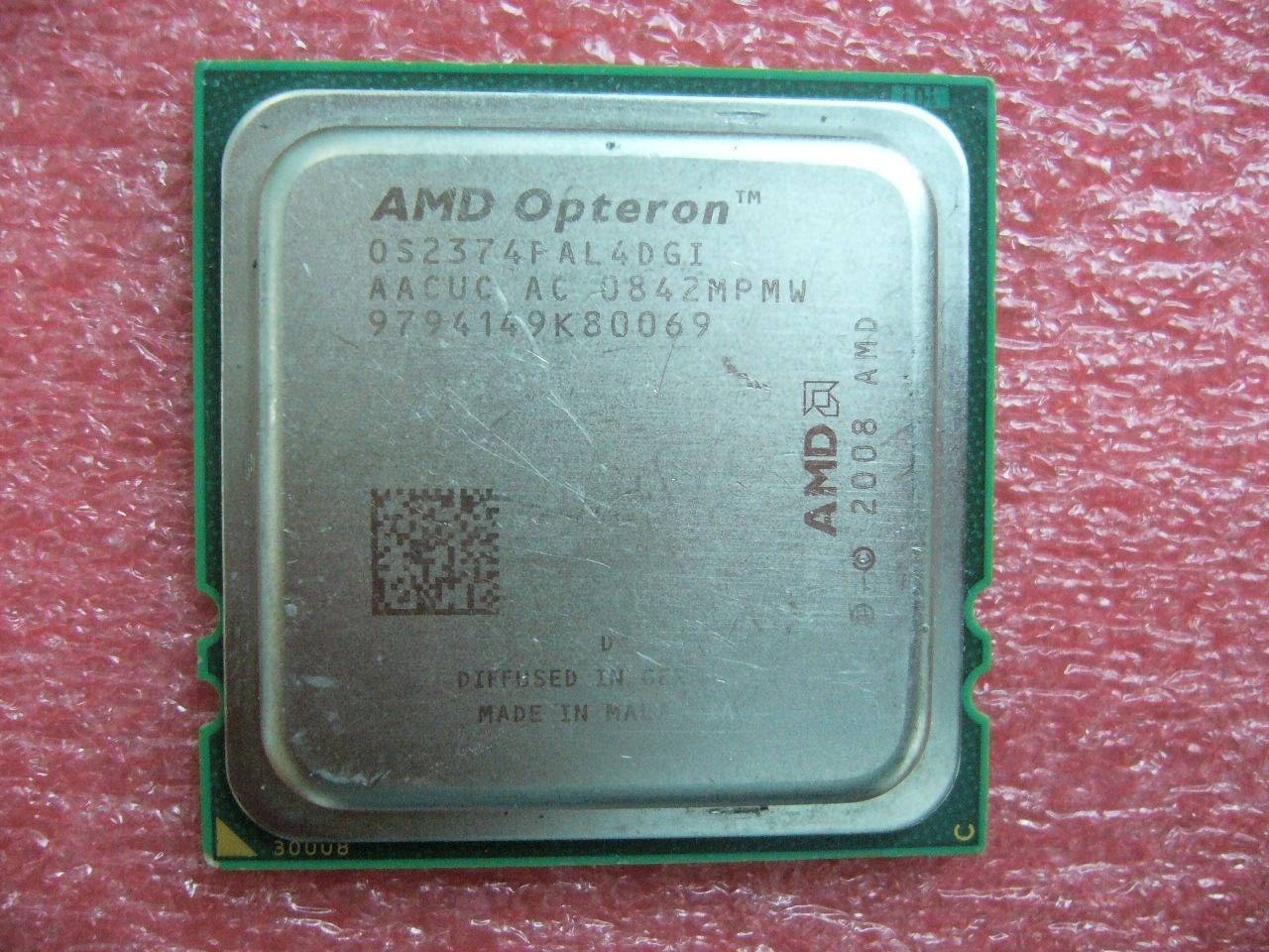 QTY 1x AMD Opteron 2374 HE 2.2 GHz Quad-Core OS2374PAL4DGI CPU Socket F 1207