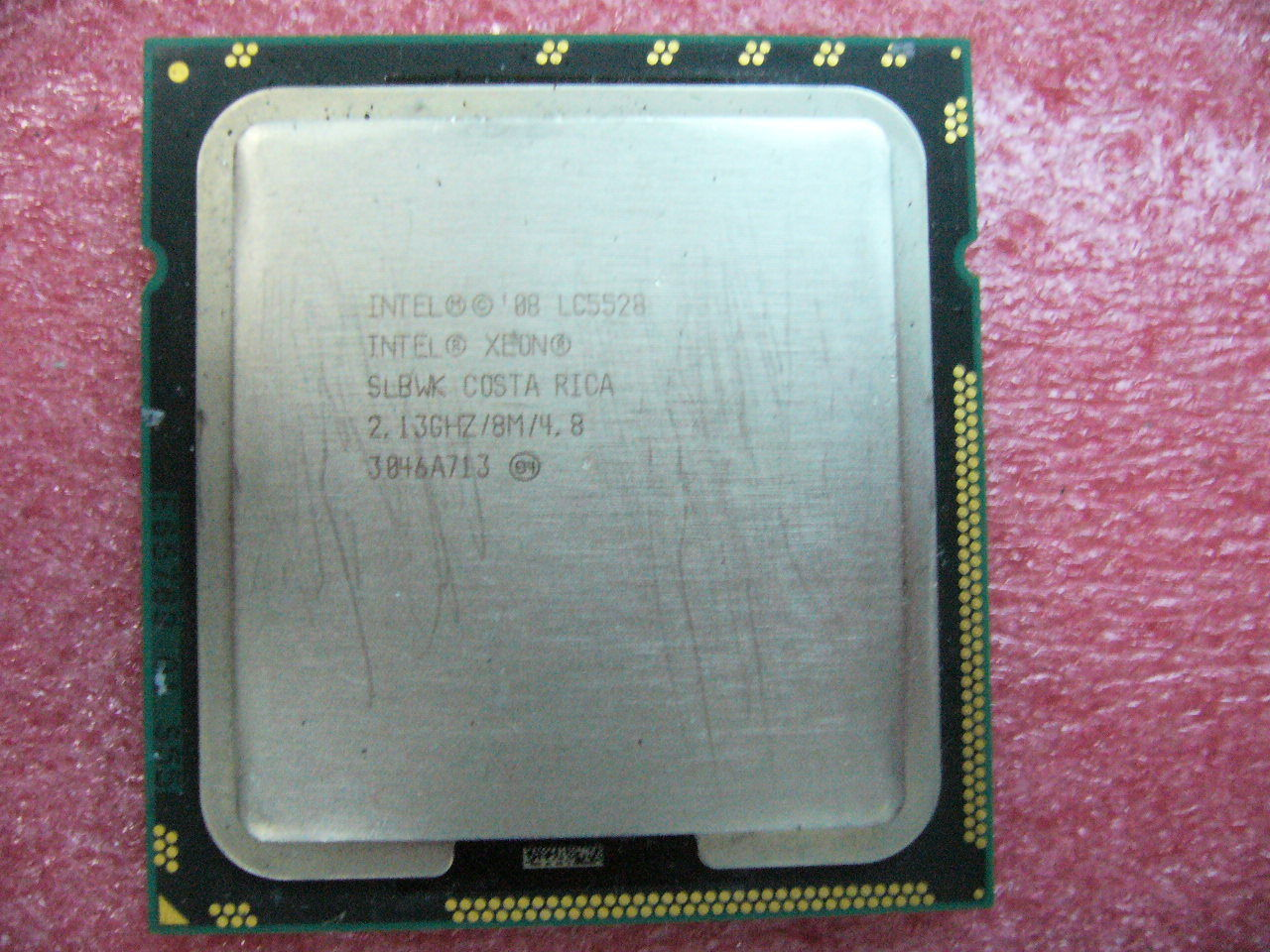 QTY 1x INTEL Quad-Cores CPU LC5528 2.13GHZ/8MB LGA1366 SLBWK