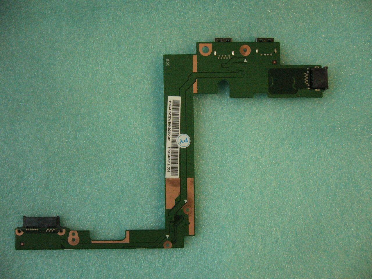 QTY 1x USB Ethernet LKM-1 IO Sub card for Lenovo Thinkpad T540P W540 04X5512