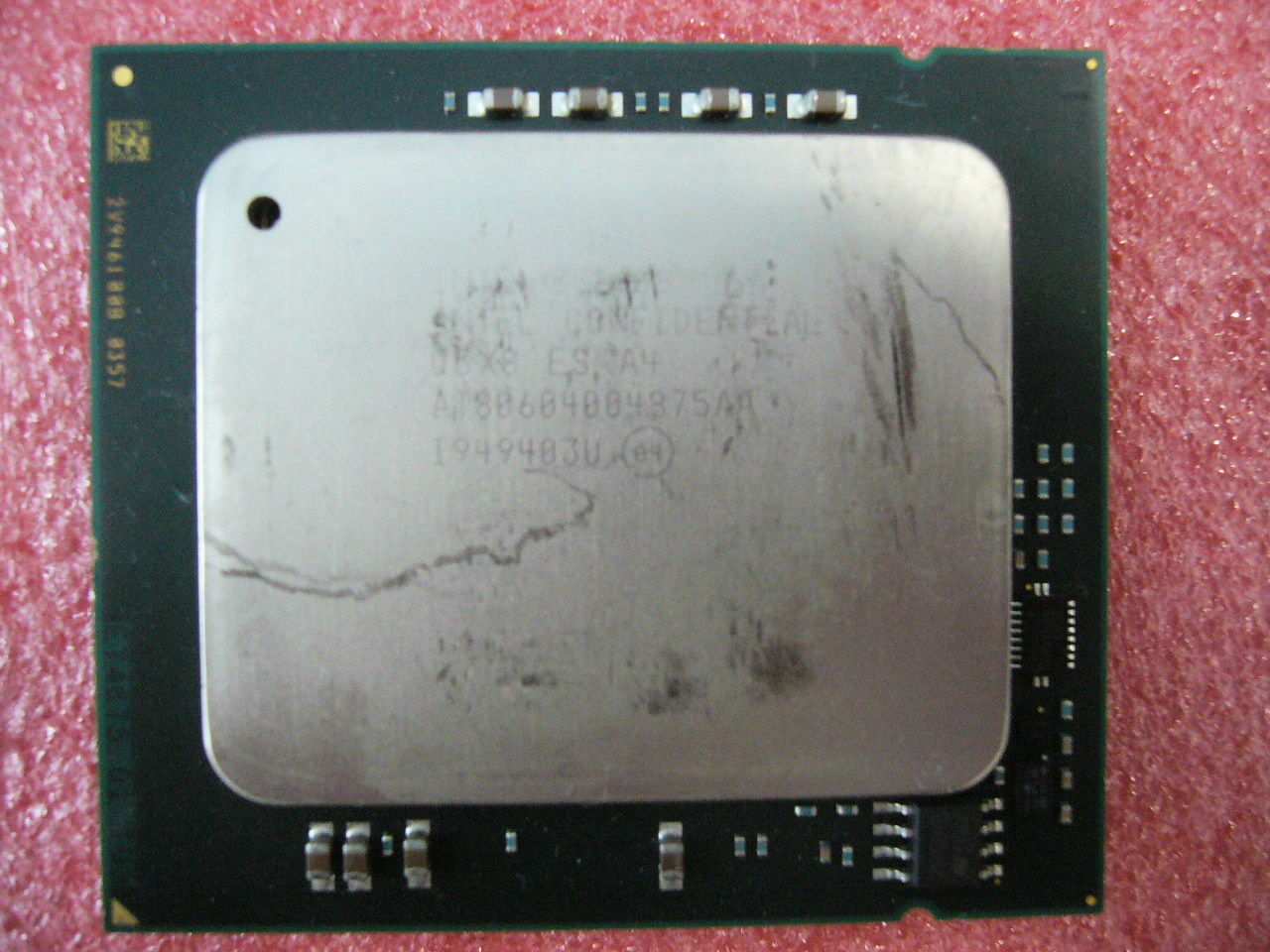 QTY 1x INTEL Eight-Cores ES CPU L7555 1.86GHZ/24MB 5.86GT/s LGA1567 TDP 95W
