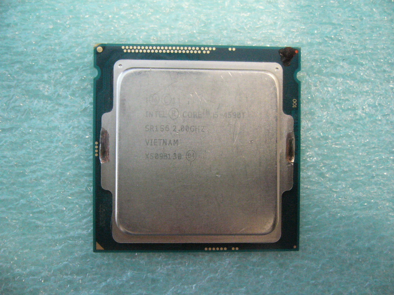 QTY 1x Intel CPU i5-4590T Quad-Cores 2.0Ghz LGA1150 SR1S6 NOT WORKING