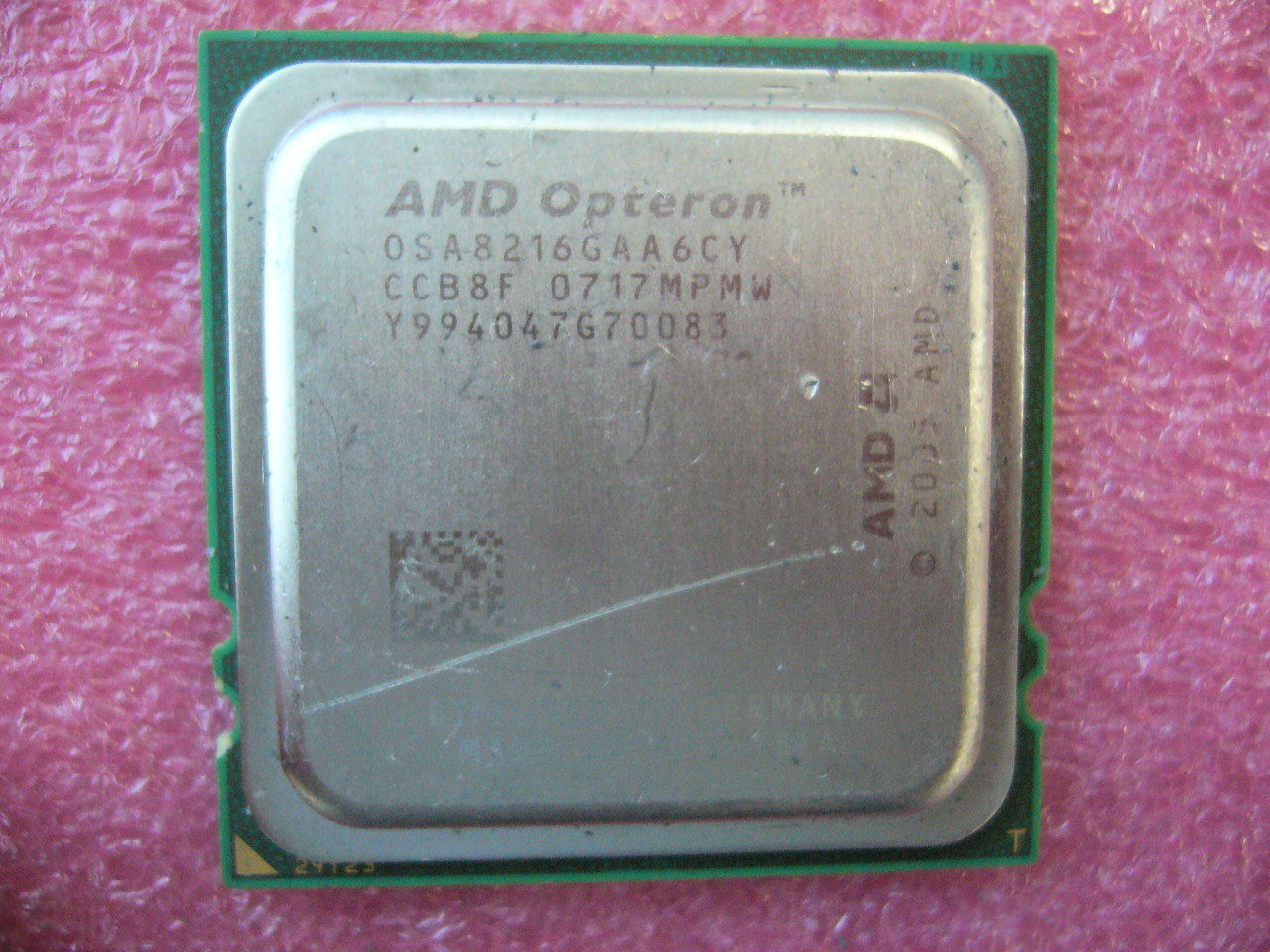 QTY 1x AMD OSA8216GAA6CY Opteron 8216 2.4 GHz Dual Core CPU Socket F 1207