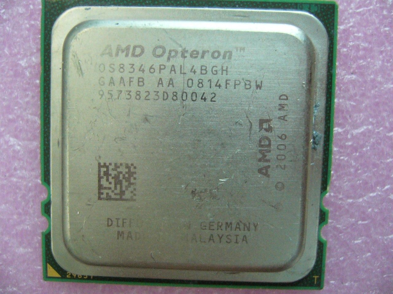QTY 1x AMD CPU OS8346PAL4BGH Opteron 8346 HE Low-Power 1.8 GHz Quad-Core F 1207