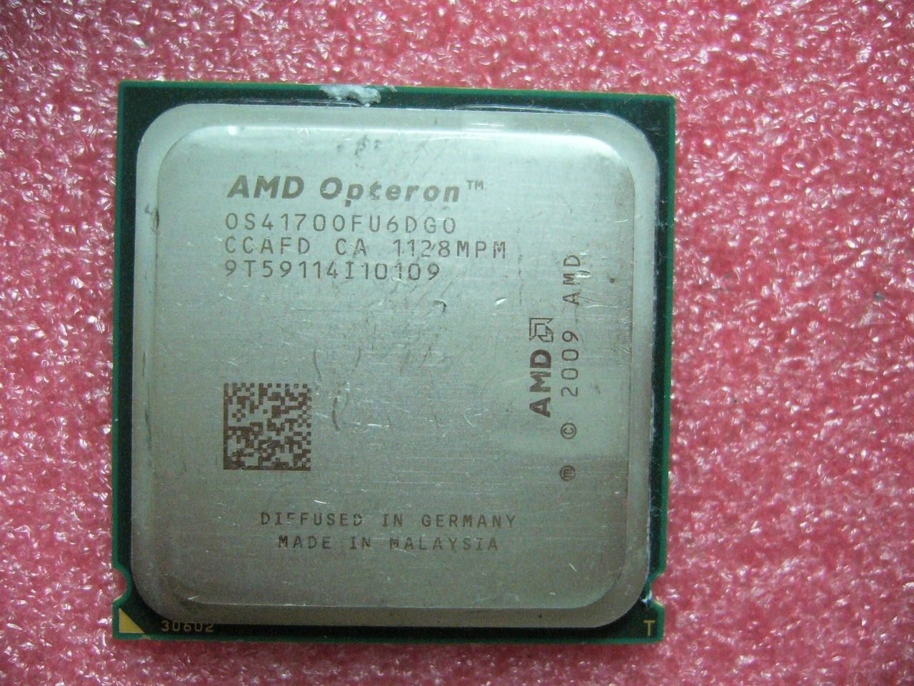 QTY 1x AMD Opteron 4170 HE 2.1 GHz Six Core (OS4170OFU6DGO) CPU Socket C32