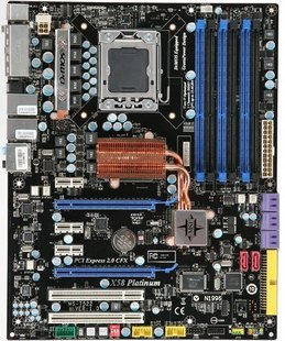 X58 PLATINUM SLI Intel i7 Socket 1366 Motherboard