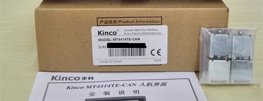 MT4414TE-CAN KINCO HMI Touch Screen 7inch 800*480 Ethernet 1 USB Host CA