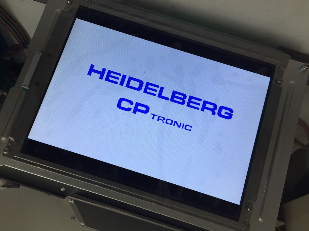 "MD400L640PG3 Heidelberg 9.4"" CP Tronic Display Compatible LCD panel for"