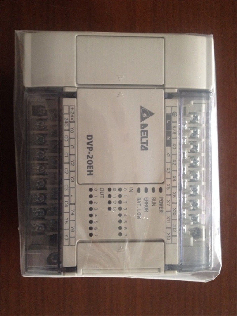 DVP20EH00R3 Delta EH2/EH3 Series PLC DI 12 DO 8 Relay output 100-240VAC