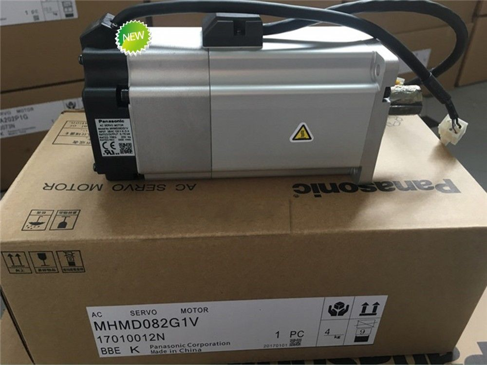 100% NEW PANASONIC AC servo motor MHMD082G1V in box