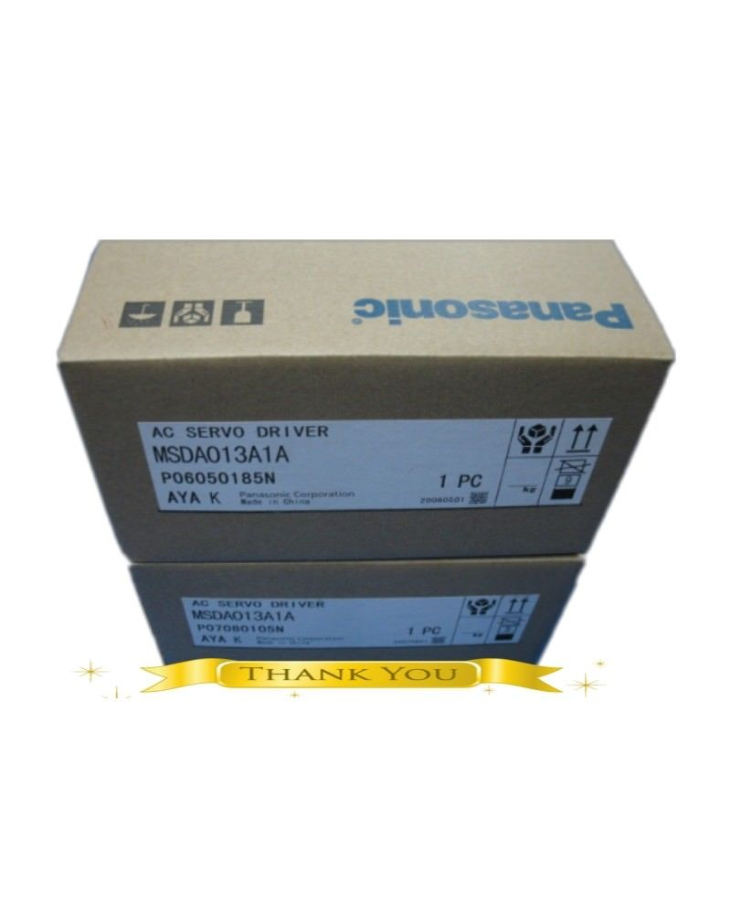 BRAND NEW PANASONIC AC Servo drive MSDA013A1A in box
