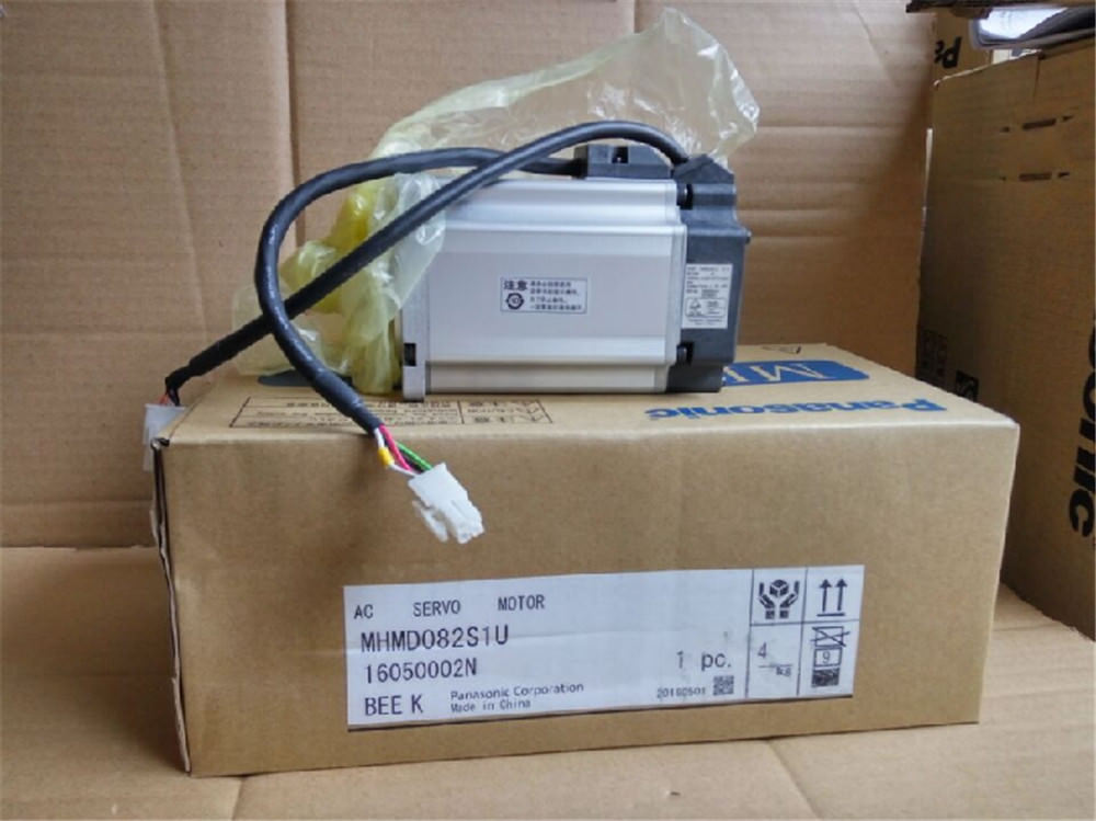 100% NEW PANASONIC servo motor MHMD082S1U in box