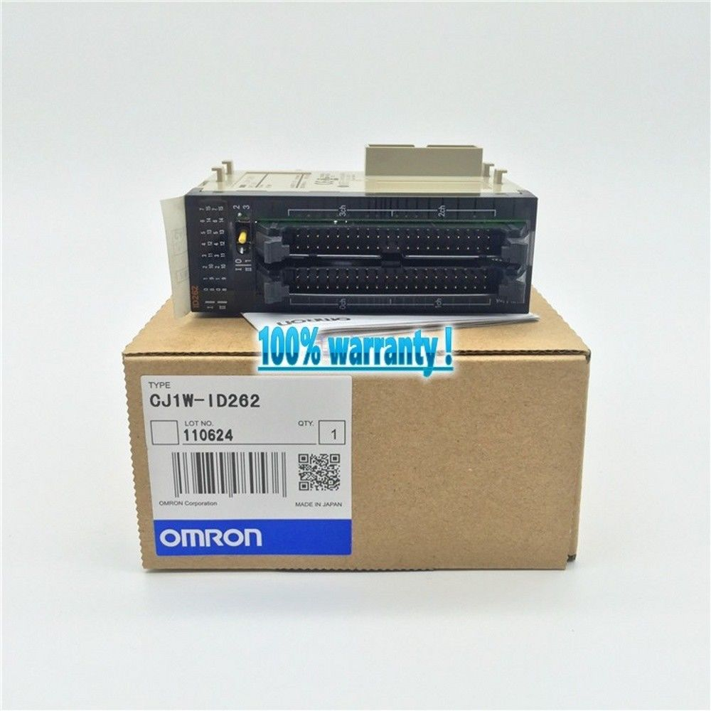 100% NEW OMRON PLC CJ1W-ID262 IN BOX CJ1WID262