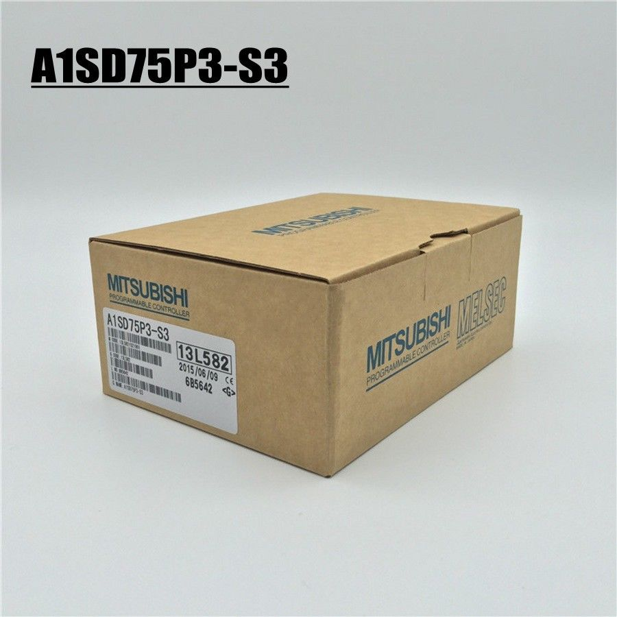 100% NEW MITSUBISHI PLC A1SD75P3-S3 IN BOX A1SD75P3S3