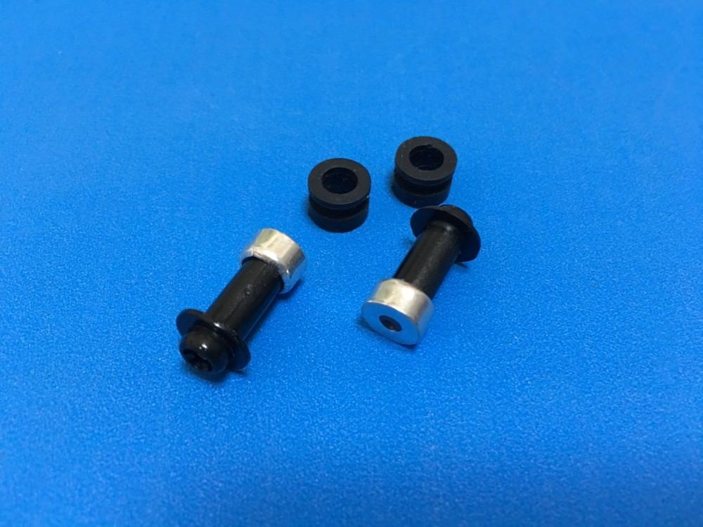 2x Ink Tubes Nozzle with Rubber for HP DesignJet 4000 1050 4500 5000 5100 5500