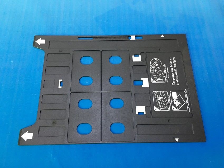 PVC ID card tray for Epson R1800 R1900 R2000 R2000S R2400 R2880 R3000 G800